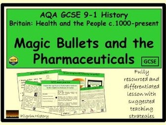 Magic Bullets and the Pharmaceuticals