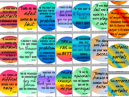 Growth Mindset Quotes | Growth Mindset Inspirational Quotes In English And Spanish By