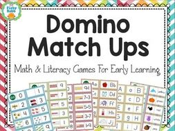 Kindergarten (Reception) Math and Literacy Centers