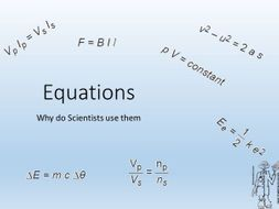 Physics Equations Uses and Understanding AQA 2019