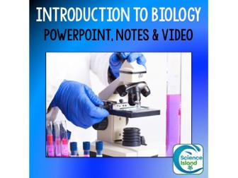 Introduction to Biology PowerPoint and Notes