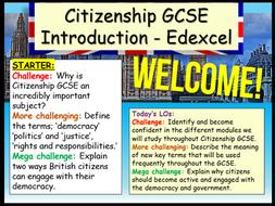 Citizenship GCSE Introduction Edexcel