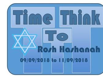 ROSH HASHANAH Assembly September 2018 TTT