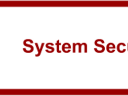 System Security