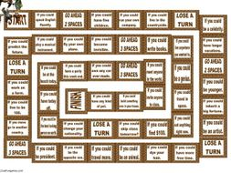 Conditional Sentences Type 2 Animated Board Game