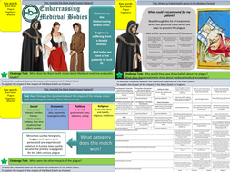 Health and the people: What was the Black Death and how did it impact Medieval England?  (L6)
