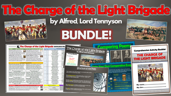 The Charge of the Light Brigade - Alfred, Lord Tennyson - Bundle!