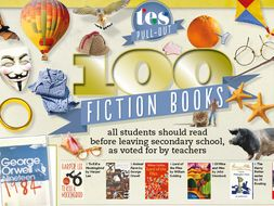 100 fiction books all students should read before leaving secondary