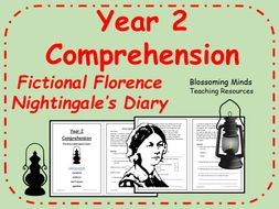 Florence Nightingale's Diary - Year 2 SATs style comprehension -  History