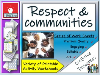 Diversity Respect and Communities - Home learning