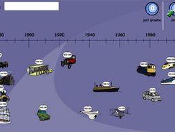 transport timeline by tesiboard teaching resources tes. Black Bedroom Furniture Sets. Home Design Ideas