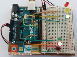 Embedded Systems  ARDUINO    GENUINO Project Pelican crossing light sequence