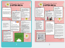 parents tips and tricks for Easter break