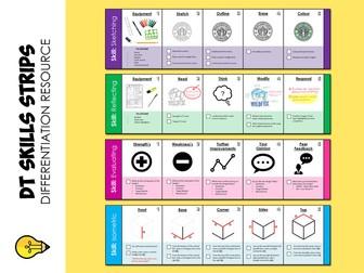 Design Technology : Skills Strips (Differentiation)
