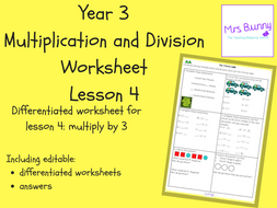 Multiplication And Division The  Times Table Worksheets Y By  Multiplication And Division The  Times Table Worksheets Y
