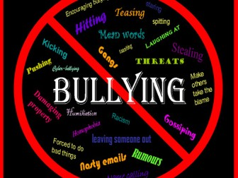 BULLYING TEACHING RESOURCES SCHOOL BULLY VICTIM BEHAVIOUR DISPLAY ACTIVITIES KS 1-4
