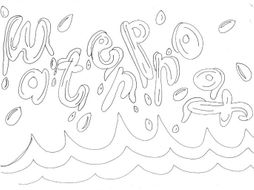 Waterproof: Materials and Properties Colouring Page