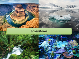 ECOSYSTEMS INTRODUCTION