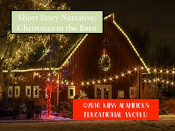 Short Story Narrative: Christmas in the Barn