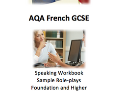 AQA French GCSE Speaking Workbook - role-plays