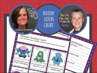 Monster Creativity Workbook - Creative Writing Workbook and Activities