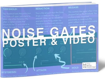 Noise Gate Explained-POSTER and VIDEO