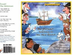 Mayflower book & reading comprehensions 'Mayflower: Journey to the Unknown' - Pilgrims, Thanksgiving