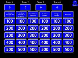 Gcse newspec aqa chemistrypaper1 jeopardy revision game by gcse newspec aqa chemistrypaper1 jeopardy revision game urtaz Choice Image