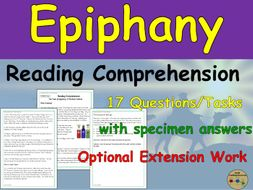 Epiphany Reading Comprehension Passages