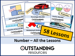 Number: ALL Lessons (58 Lessons) + ALL Resources