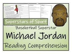 UKS2 Literacy - Michael Jordan Reading Comprehension