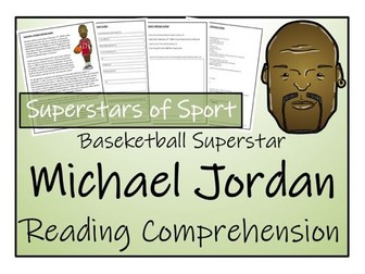 UKS2 Literacy - Michael Jordan Reading Comprehension