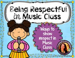 Being Respectful in Music Class