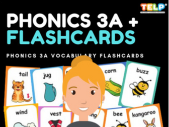 Phonics 3A FLASHCARDS
