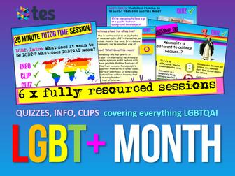 LGBT+ Transgender, Homophobia, more!