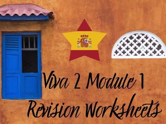 Spanish Viva 2 Module 1 Worksheets