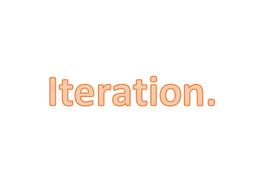 Iteration Worksheet