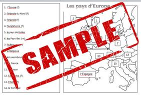 Carte Deurope Pdf.Carte Des Pays D Europe