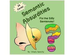 Listening Activity- Fix Silly Sentences