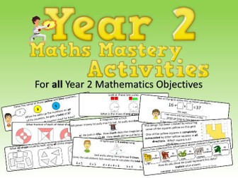 Year 2 Maths Mastery Activities