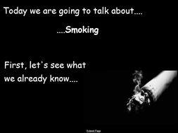 Year 3 PSHE Smoking