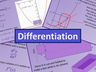 Differentiation - A level AS Mathematics