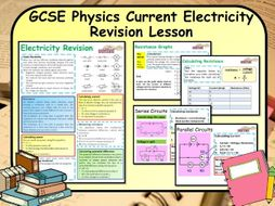 KS4 GCSE Physics Current Electricity Revision Lesson