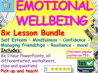 Emotional Well-Being + Emotional Literacy