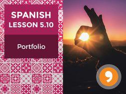 Spanish Lesson 5.10: Mi Día - Portfolio