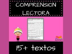 Textos en español | Spanish | comprensión lectora - reading comprehension (15+ textos))