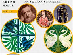 Arts and Crafts Movement ~ Art History ~ William Morris et al ~ 175 Slides ~ Art ~ Craft