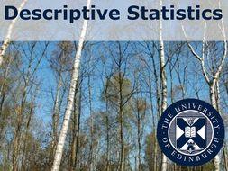 Environmental Sciences: Descriptive Statistics