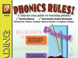 Phonics Rules! Teaching Manual & Student Worksheets