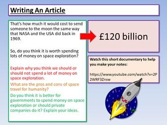 AQA English Language Paper 2 Article Writing